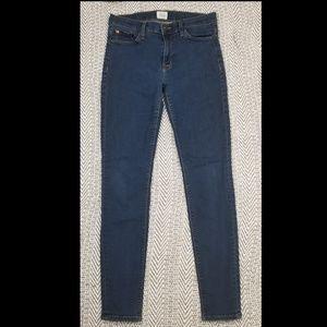 Hudson Jeans Nico Midrise Super Skinny, Size 28